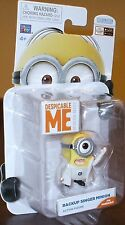 New DESPICABLE ME 2 Minion Made ~ BACKUP SINGER MINION ~ Poseable Action Figure