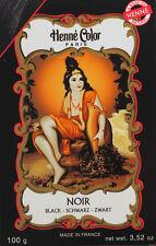 Henna Color SCHWARZ BLACK Haarfärbemittel Haar Farbe (6,75 EUR pro 100 g)