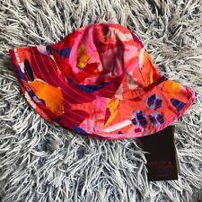 BNWT Catimini Girls Multi Colour Summer Hat BNWT 49cm Aprox 1-2-3 Years