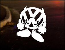 VW DEVIL MAN Car Decal Sticker VW Camper Bus Golf Beetle Dub Bug