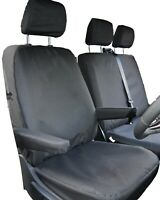 VW Transporter T6 Seat Covers - Thick, Tailored, Waterproof, Heavy Duty