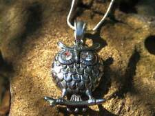 WISDOM OF THE AGES OWL AKASHIC RECORD AMULET