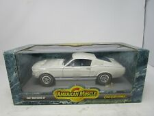 1999 Ertl American Muscle *1967 MUSTANG GT (WHITE)*  1:18  (SEALED)