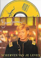 BENNY NEYMAN - Scherven van je leven CD SINGLE 2TR CARDSLEEVE 1995 HOLLAND