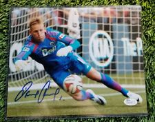 DAVID OUSTED SIGNED 8X10  D.C. UNITED FOOTBALL CLUB ACTION PHOTO JSA/COA R83275