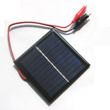 1W 5.5V Solar Panel Polysilicon Module Phone Charger DIY Camping Hiking Crystal