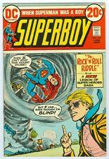 SUPERBOY # 195 JUNE 1973 VFINE