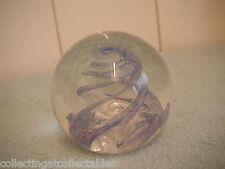 Beautifil Selkirk glass paperweight SPINDRIFT