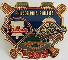 PHILADELPHIA PHILLIES 1993 WORLD SERIES MLB Baseball Lapel Pin Tac Vintage NEW