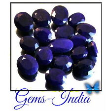 205 CT 100% NATURAL AFRICAN BLUE SAPPHIRE GEMSTONES Lot FREE SHIPPING GEMS-INDIA