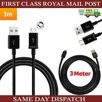 "New 3M Extra Long USB Data Charger Cable For Samsung Galaxy Tab A A6 10.1"" 2016"