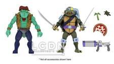 Neca Teenage Mutant Ninja Turtles Dessin-animé - Slash & Leatherhead Soldat