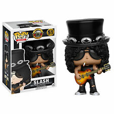 "Guns N Roses Slash 3.75"" Pop Rocks Vinilo Figura Funko Nuevo 51"
