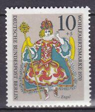 GERMANY - BERLIN 1970 MNH** SC# SEMI-POSTAL STAMPS - 9NB78 Christmas