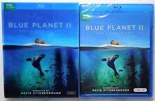 New BBC Earth Blue Planet II 3-BluRay Lensatic Sleeve Take A Deep Breath