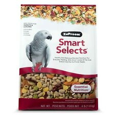 ZuPreem Smart Selects Daily Bird Food for Parrots & Conures (2 Pack of 4 lb)