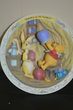Bradford Exchange Winnie The Pooh And Friends Plate-Rumbly In My Tumbly