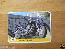 INFO CARD MOTORCYCLE KAWASAKI VN1600