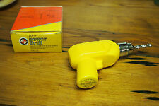 Vintage Avon Decanter Bottle with original Box  - 70's Power Drill