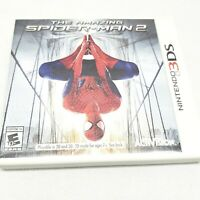 The Amazing Spiderman Nintendo 3DS Case And Inserts Only, No Manual/Game