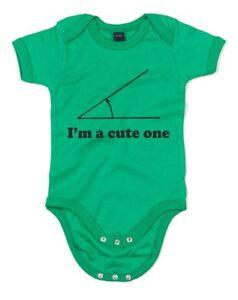 I'm acute one!, Printed Baby Grow