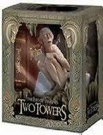 Lord Of The Rings = Two Towers = 4 DVD extended ed + Limited Ed Gollum statue