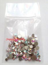 144 Nail Art Multi-Sized Swarovski Rhinestones Crystal AB [ss5,9,12,16,20] S701