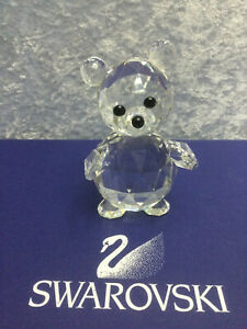 Swarovski Crystal King Bear - 7637092000.  Retired 1987.