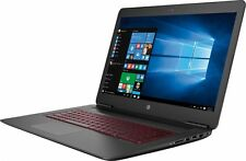 "HP Omen 17t Gaming Gamer Laptop 17 17.3"" i7-7700HQ Quad 8GB 1TB 4GB 1050 Ti AC"