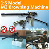 "1/6 US ARMY M2 Machine Gun .50 Cal 12"" Figure Soldiers Military Weapon"