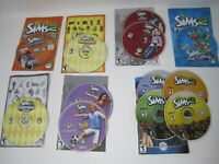 Lot of Sims 2 + Expansions Best of Buisness Family Fun Stuff Seasons