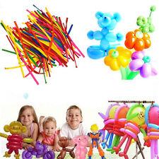 200pcs Mix-color Wedding Birthday Party Decoration Magic Latex Long Ballons ST