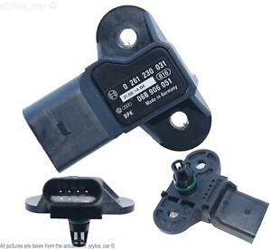 06B906051 Audi Seat Skoda VW MAP Intake Manifold Pressure Sensor 0261230031