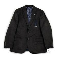 Nautica Mens Blazer Jacket 2 Button Modern Fit Faux Brown 42R