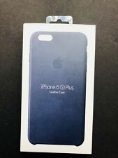 Apple Leather Case for iPhone 6 Plus/6s Plus - Midnight Blue (MKXD2ZM/A)