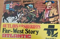 outlaws and sheriffs atlantic 1/72