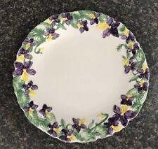 Temp-tations Violet Figural Floral Dinnerware - One Dinner Plate 820862 Retired