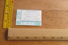 Rare and HTF  Jerry Riopelle July 28, 1979 Ticket Stub     Compton Terrace