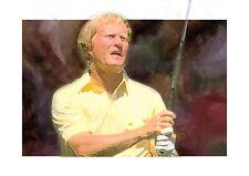 Seve Ballesteros ,Tiger Woods, golf legends  Canvas  A4  set of 6 A4 prints