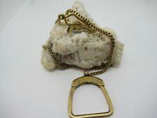 Filled Pocket Watch Chain Unusual Vintage Swank 1/20 12K Gold