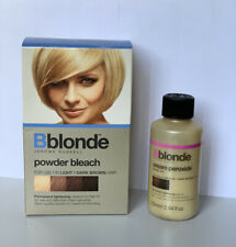 Jerome Russell Bblonde Powder Bleach & Cream Peroxide SET