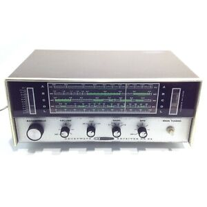 Vintage HEATHKIT Collectible Vacuum Tube 4 Band Shortwave Radio Model: GR-64
