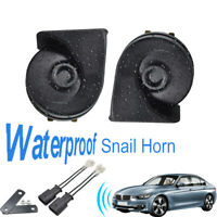 410/510Hz Dual Pitch Waterproof Snail Horn For BMW 3 Series F30 F31 F34 11-19
