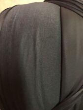 "1 Yard VELCRO® Brand Fabric (153615) Knit Loop 62"" Black 380    GS"