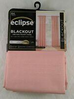 "Eclipse Braxton Blackout Window Curtain Coral One Rod Pocket Panel 42"" x 84"" New"
