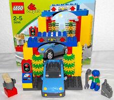 Lego Duplo~Car Wash~5696~Autowaschanlage~Auto Waschstraße~Waschanlage~Tankstelle