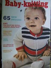 Mon Tricot Baby-Knitting (& Crochet) Book #12- 65 Designs Most Shown
