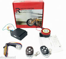 ALARME SCOOTER MP3  SIRENE 125DB + 2 TELECOMMANDE 12V INSTALLATION SIMPLE NEUF