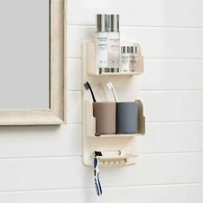 LILPARTNER Shower Caddy with Hooks for Hanging Bath Loofahs and Razor, Shampoo