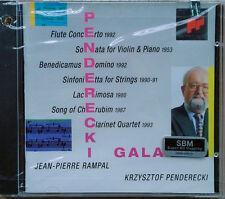 PENDERECKI GALA - K. PENDERECKI / JEAN PIERRE RAMPAL - SONY CD - SBM - SEALED